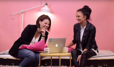 #4 Lauros laidos ant Napsie epizodas su blogere ir youtubere Absentta.